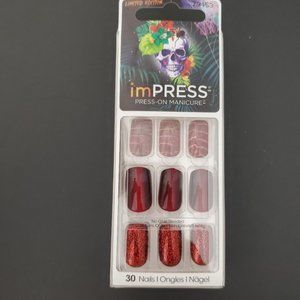 ImPRESS false nails Red Limited edition